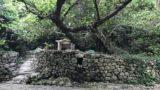 沖縄 南城市 百名ビーチの森にひっそりと佇む 浜川御嶽